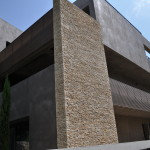 Stone Patterns Modern Residential Architecture Thelayer