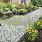Stone Paver Pathway Images Expands Your Sense Outdoor Living Space