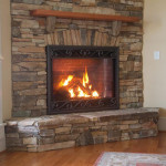 Stone Veneer Siding Fireplace West Blend Pinnacle