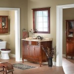 Storage For Small Bathrooms Hardwood