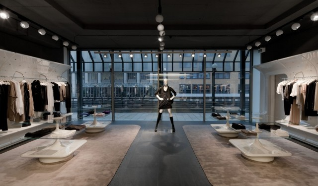 Store Design Stefanel Flagship Sybarite Home And