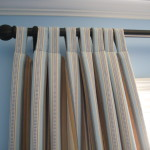 Striped Tab Top Curtains Wikimedia Commons