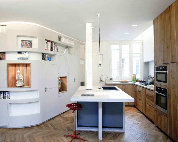 Structural Small Apartment Designs Ideas Concept