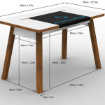Studiodesk Cool And Clutter Free Desk For Small Office