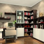 Study Ideas Design Corner Bookcase