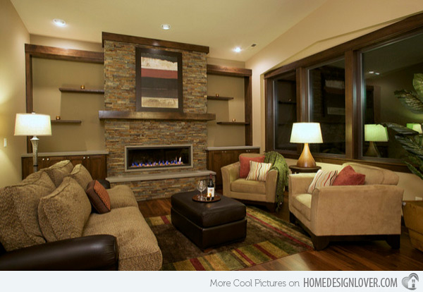 Stunning Earth Toned Living Room Designs Home Design Lover