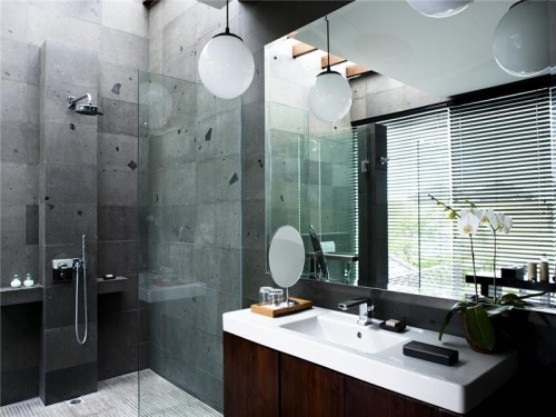 Style And Elegance Your Bathroom From Marble Large Mirror
