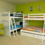 Stylish Bunk Beds For Small Space Bedroom