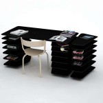 Stylish Office Writing Desk For Great Design Architect