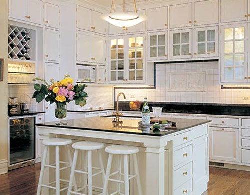 Subway Tile Kitchen Backsplash Ideas White