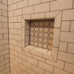 Subway Vintage Inspired Tile Gray Grout Home Decor Inspirati
