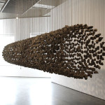 Suspended Stone Installations Manipulating Natural Materials Into
