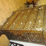 Syrian Mother Pearl Inlaid Chest Drawers Lot