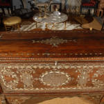 Syrian Mother Pearl Inlaid Chest Stdibs