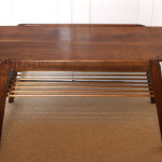 Tall And Wide Hardwood Coffee Card Table