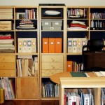 Tall Bookcase Nice Office Decoration