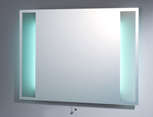 Tavistock Zino Backlit Frosted Border Bathroom Mirror Sbl