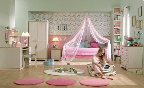 Teen Girls Room Flora Design Ideas For Teenage