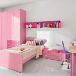 Teen Girly Pink Theme Bedroom Design And Decorating For