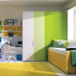 Teen Room One Total Images Modern Green Color Scheme For Teenage