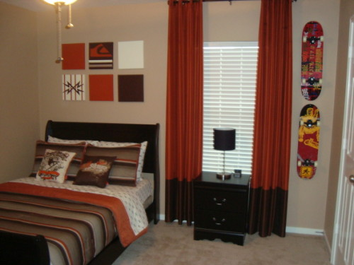 Teen Room Skateboard Themed Theme Boys Rooms