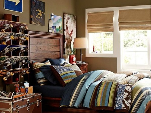 Teenage Boys Room Design Skater Bedroom Ideas Dmada