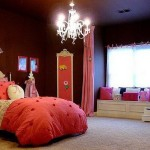 Teenage Girls Room Paint Ideas Brown Wall Decor