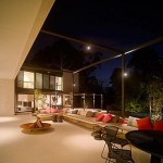 Terrace Lighting Design Motiq Online Home Decorating Ideas