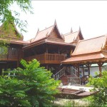 Thai House Compounds Story Modified Traditional