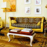 The African Fashionista Inspired Living Room