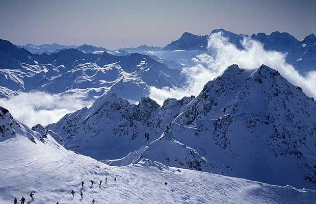 The Alps Are Located Central Area Southern Region