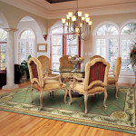 The Best Size For Your Dining Room Rug Home Blog
