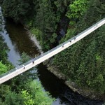 The Capilano Suspension Bridge Simple Crossing