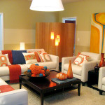 The Colorful Living Room And Spring Summer Decorating Ideas