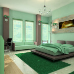 The Example Good Colors For Your Bedroom Interior Green Color