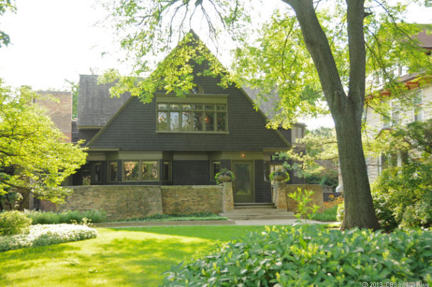 The Frank Lloyd Wright Home And Studio Example What Famed