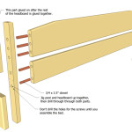 The Holes For Dowels Are Best Drilled Clamping Horizontal