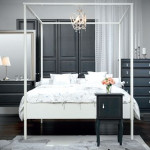 The Ikea Edland Bed Mid Cost Four Poster Frame For Full