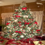 The Images Decorated Christmas Trees