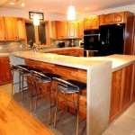 The Kitchen Island Part Open Floor Plan Home Troy