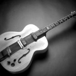 The Les Paul Log Guitar Made First Out Four Inch