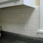 The Little House White Subway Tile Kitchen Backsplash