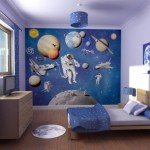 The Modern Home Decor Blue Color Wall Paint