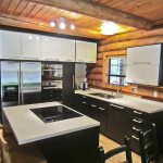 The Modern Styling Cabinets And Quartz Countertops Create