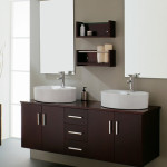 The Modern Vanity Bathroom Design Displayed Well Selected From