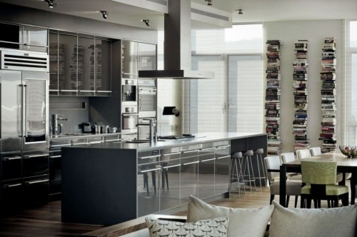 The Penthouse Modern Kitchen Interior Design Luxury Lifestyle Blog