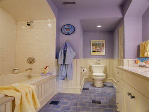 The Right Paint Color Ideas For Small Bathroom
