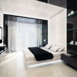 The Room Designs Black And White Bedroom Interior