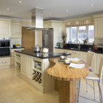 The Room Designs Spacious And Luxury Kitchen Ideas