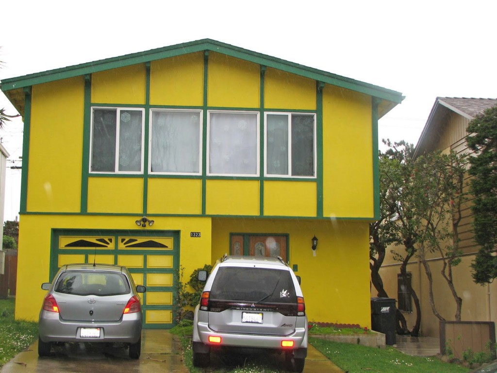 The San Francisco Area Well Known For Colorful Houses